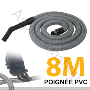 Flexible simple de 8m pour aspirateur central