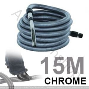 Flexible standard de 15m pour aspirateur central - METAL